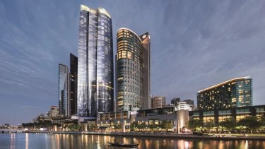 Crown's 90-storey tower will be Melbourne's tallest building.