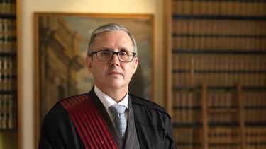 Federal Court justice Simon Steward.