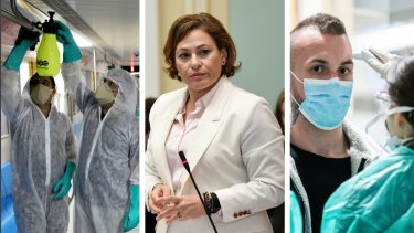 Treasurer Jackie Trad is bracing for the economic impacts of coronavirus.