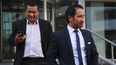 Michael Le and his brother Minh Canh Le stood accused of money laundering and using an illegal foreign workforce on their fruit and vegetable farms north of Perth.