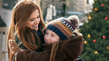 Isla Fisher and Jillian Bell in Godmothered.