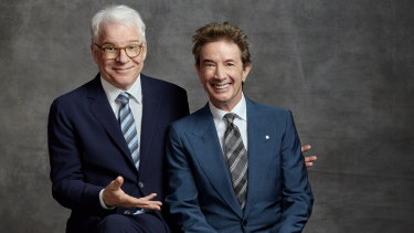 """Always say what's on the audience's mind immediately"": Steve Martin and Martin Short."