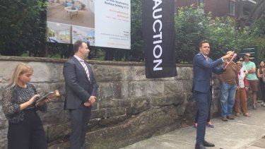 Auction clearance rates are down in both Sydney and Melbourne.