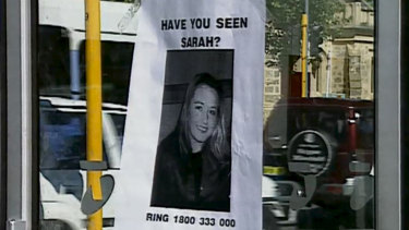 One of the missing posters made for Sarah Spiers.
