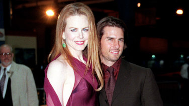 Nicole Kidman and Tom Cruise in 1998.