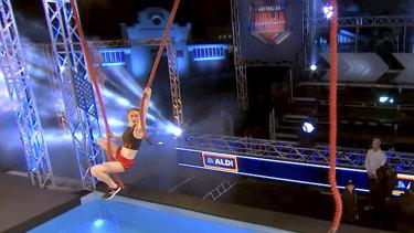 Olivia Vivian in action.