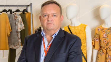 Myer CEO John King makes the best of what he has.