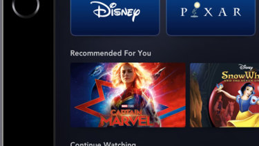 Disney's streaming service will include series based on the Star Wars and Marvel movie franchises.