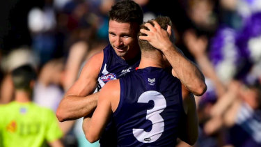 Jesse Hogan is one of several topline new additions at the Dockers this season.