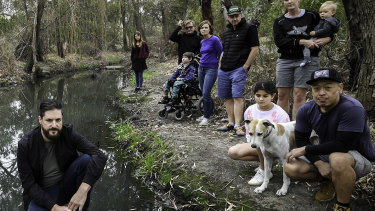 Members of Friends of Stony Creek say their creek continues to be contaminated by industrial chemical spills.