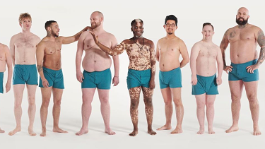 Men of Manual raising awareness for men's body shame.