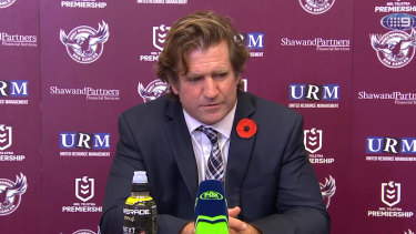 He's back: Des Hasler will take on his former club Canterbury for the first time on Saturday.
