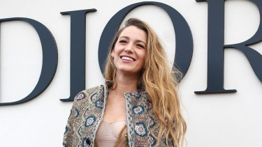 Blake Lively, definitely a woman with objectively good hair.