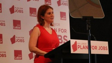 Labor senate candidate Alana Herbert has been banned from the AWU national conference for her safety.