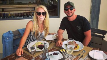 Rochelle and Ben Dryden, who arrived at Cape Grace Hotel in South Africa to discover their booking had been cancelled by HotelQuickly.