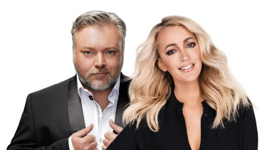KIIS FM presenters Kyle and Jackie O.