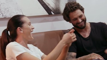 """""""Can I send you nudes?"""" Ines asks Sam on Tuesday's Married at First Sight."""
