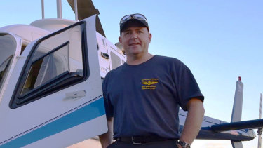 Pilot David Kerr, as well as his four passengers, are feared dead after a helicopter crash in waters near Port Stephens.