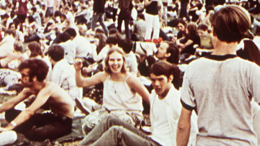 Woodstock wasn't a mass movement of single purpose. It was not political per se. But in the personnel en masse it seemed to become so.