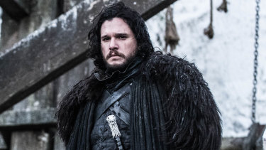 Kit Harington starring as Jon Snow in Game of Thrones.
