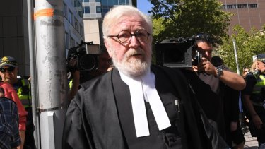 """""""I offer my sincerest apologies"""": Robert Richter, QC, the defence barrister for George Pell."""