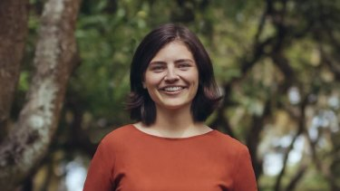 Chloe Swarbrick, the 25-year-old New Zealand MP who threw out the 'OK Boomer' retort when heckled recently.