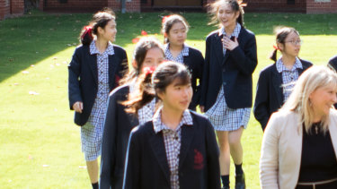 Toorak College boarding house has stayed open during the coronavirus crisis.