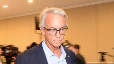 David Gallop resigned as chief executive of FFA.