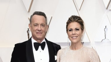 Tom Hanks and his wife Rita Wilson have been diagnosed with coronavirus in Australia, after experiencing colds, fevers, muscle aches and chills.