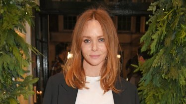 Stella McCartney, the fashion designer, doesn't like to wash her clothes.