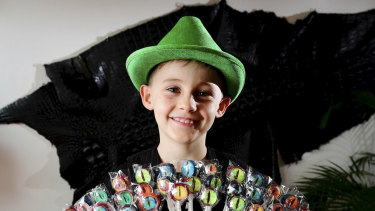 Croc Candy turned over almost $30,000 in its second year of operation for nine-year-old entrepreneur Angus Copelin-Walters.