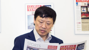 Western diplomats and commentators regularly accuse editor in chief of the Global Times Hu Xijin of bending the truth to inflame nationalist instincts.