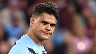 Mitchell was left out of the Blues team which won Origin II and Origin III.