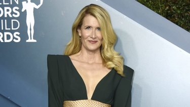 Laura Dern arrives at the 26th annual Screen Actors Guild Awards in Los Angeles.