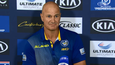 Brad Arthur has signed for two more year with the Eels.