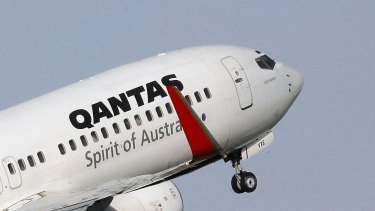 Qantas is one company Wesfarmers could look at acquiring, according to Macquarie analysts.