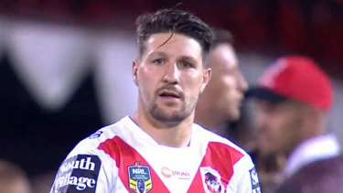 There won't be a Dragons homecoming for Gareth Widdop.