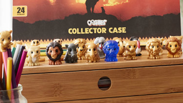 Woolworths' Lion King Ooshies giveaway has helped drive sales higher.