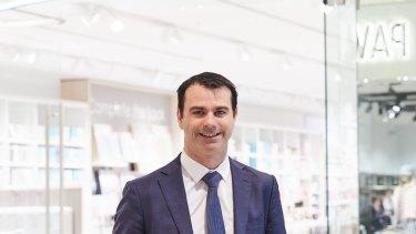 Adairs chief executive Mark Ronan.