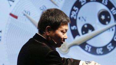 Huawei's Richard Yu gave a strong speech last year.