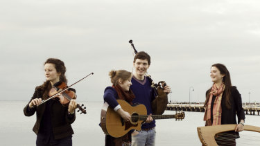 Feis Rois play at the National Celtic Festival.