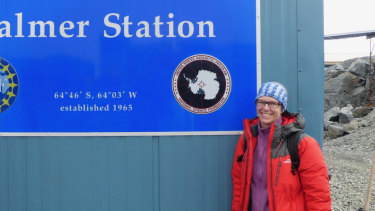 Dr Christina Schroeder was chosen for the first round of the Homeward Bound Leadership Program, a year-long leadership scheme that culminates in an Antarctic voyage.