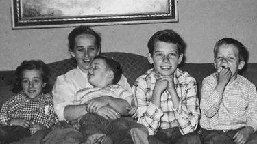 Joe Biden, second from right, is the eldest of four children.