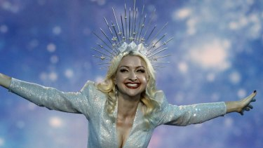 Could Kate Miller-Heidke, Australia's Eurovision entrant in 2019, be part of the entertainment at Brisbane AFL grand final on October 24.