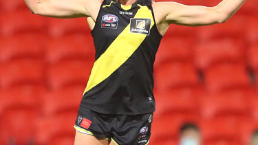 Richmond had to suspend training on Saturday after a player tested positive to COVID-19.