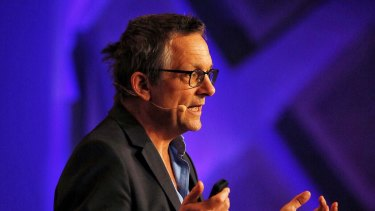 Dr Michael Mosley on Monday.
