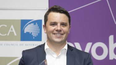 Jump founder Ian Campbell's assets have been frozen. He was awarded Australian Emerging Franchisor of the Year in 2016.