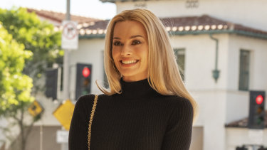 Living the Hollywood 'fairytale': Sharon Tate (Margot Robbie) in Quentin Tarantino's ninth film Once Upon a Time in Hollywood.