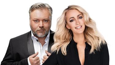 Kiis FM presenters Kyle and Jackie O.