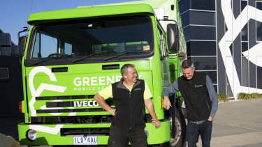 Paul Mawdsley of GreenBox Storage is tapping into the green market.